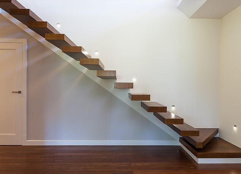 Wand- und Treppenbeleuchtung